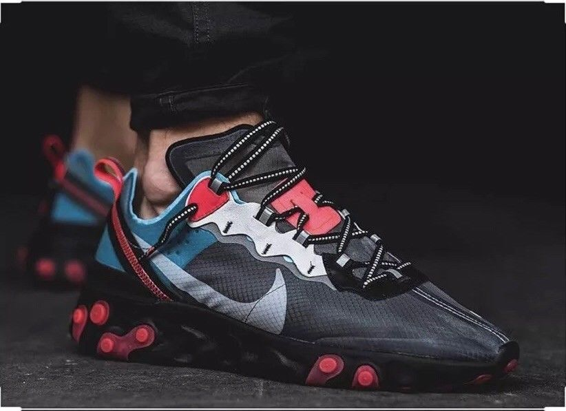 NIKE REACT ELEMENT 87 Men s 8.5 AUTHENTIC in 2019  7c9fd749e