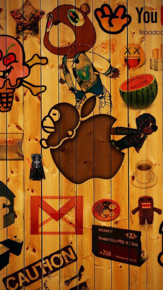 iPhone5, Wallpaper, Apple Wallpaper iphone, Graffiti