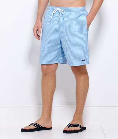 77c793f143 Mens Swim Trunks and Board Shorts: Striped Bungalow Shorts - Vineyard Vines