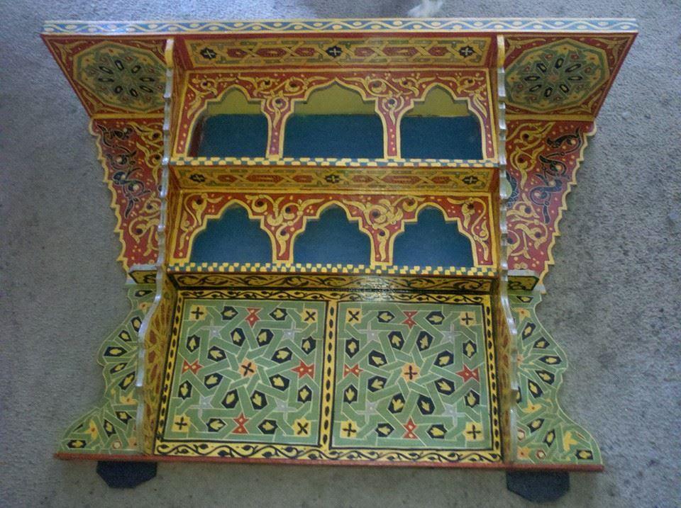 Pin By Oumaima Katir On جمال الأرابيسك والمقرنصات والزخرفة الإسلامية Painting Design Woodworking