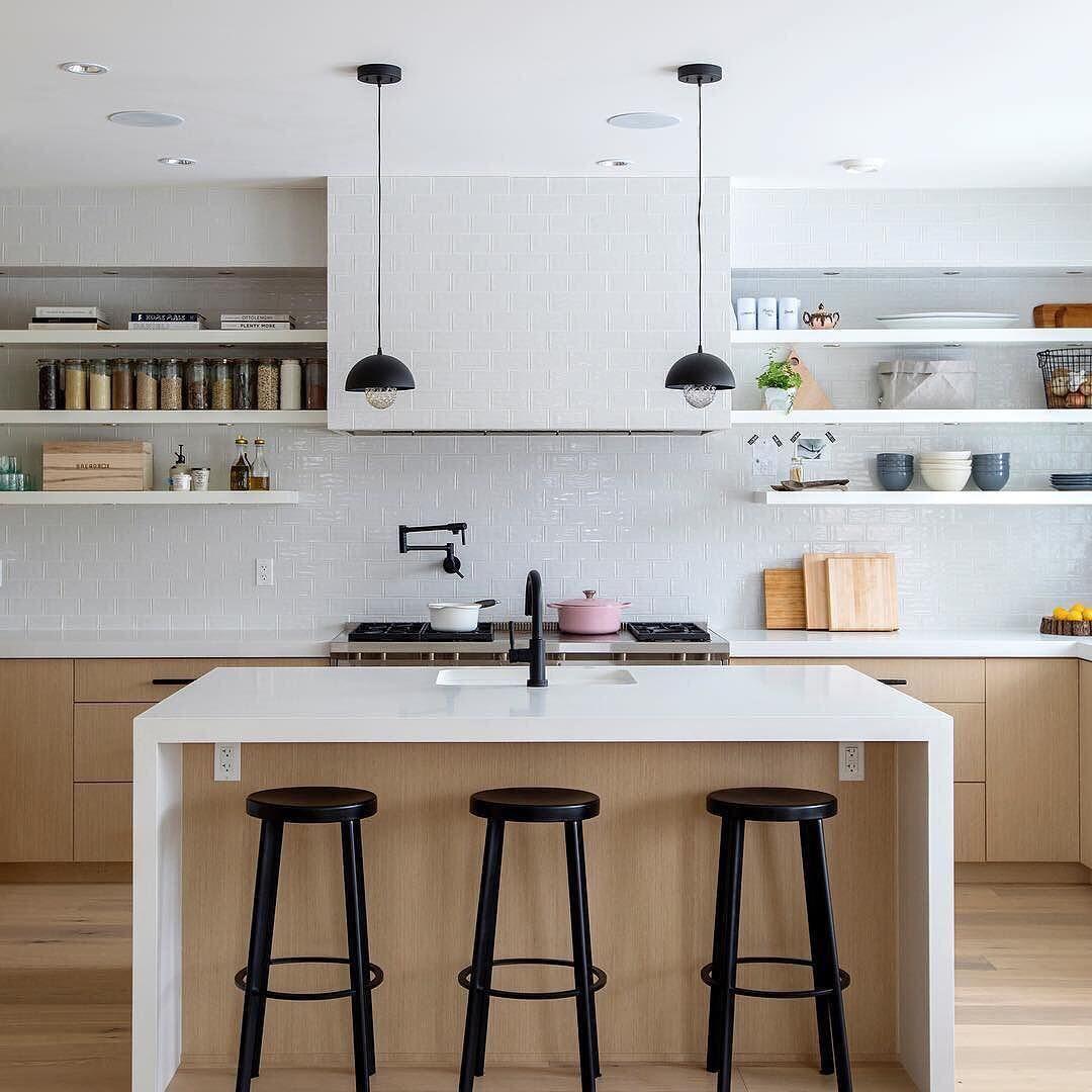 kitchen faucet in matte black accents
