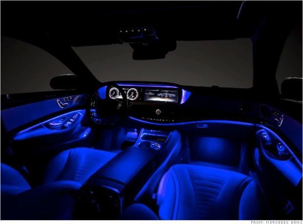 Mercedes Benz Usaㅤ On Mercedes Interior Car Lights Mercedes S