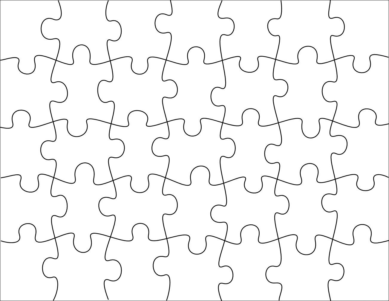 puzzle template for the grandkid\'s scroll saw project, and other ...