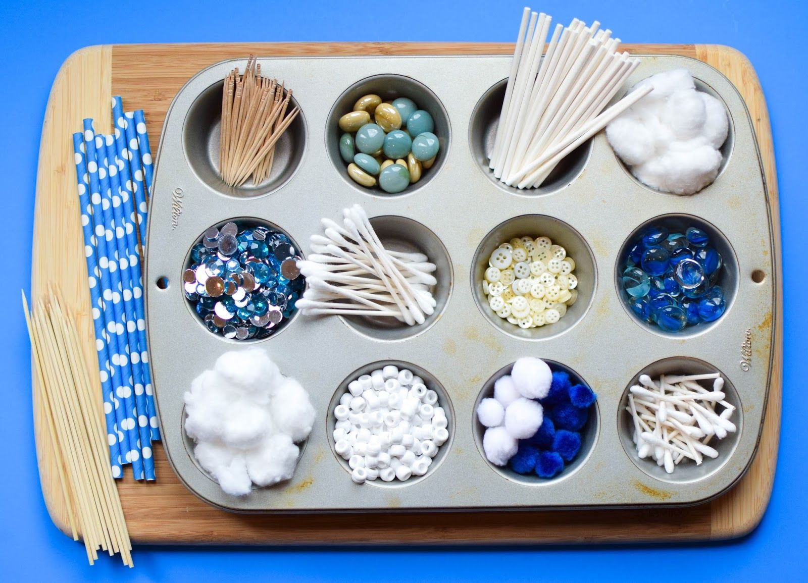 Winter Stem Build A Snowflake Tinker Tray