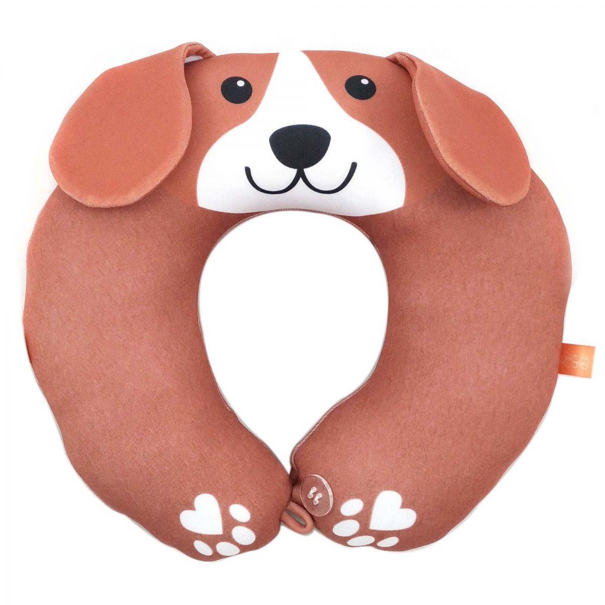 Almofada para Pescoço Infantil Cão Beagle - Dom Gato - Almofadas em formato  de cachorrinho! Crianças adoram cochilar no carro dentro de suas  cadeirinhas e ... f8ab1448d47