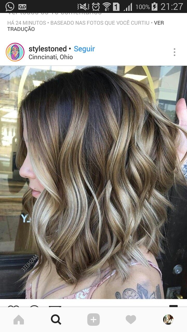 Possibly FALL WINTER HAIR COLOR STYLE IDEAS 2017 2018 HAIR