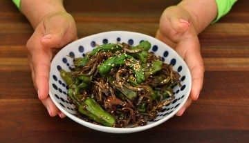 Photo of Korean Pepper and Anchovies (Myulchi Bokkeum) Recipe & Video – Seonkyoung Longest