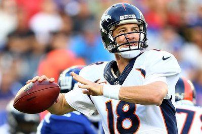 Denver Broncos vs. New York Giants  |  Peyton Manning