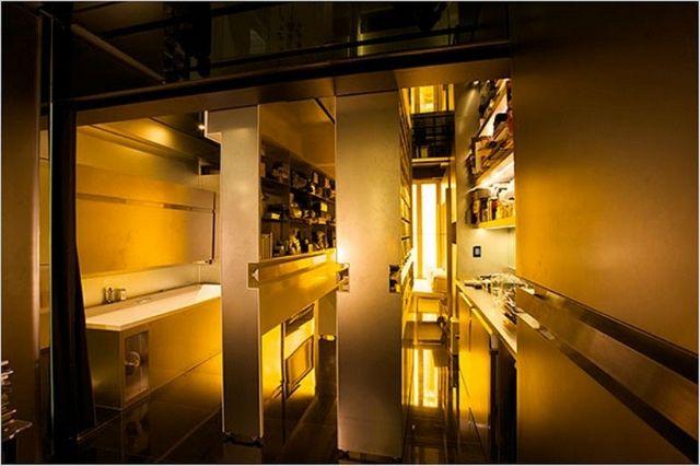 Hong Kong Keuken : Gary chang micro apartment hong kong designers and deocrators