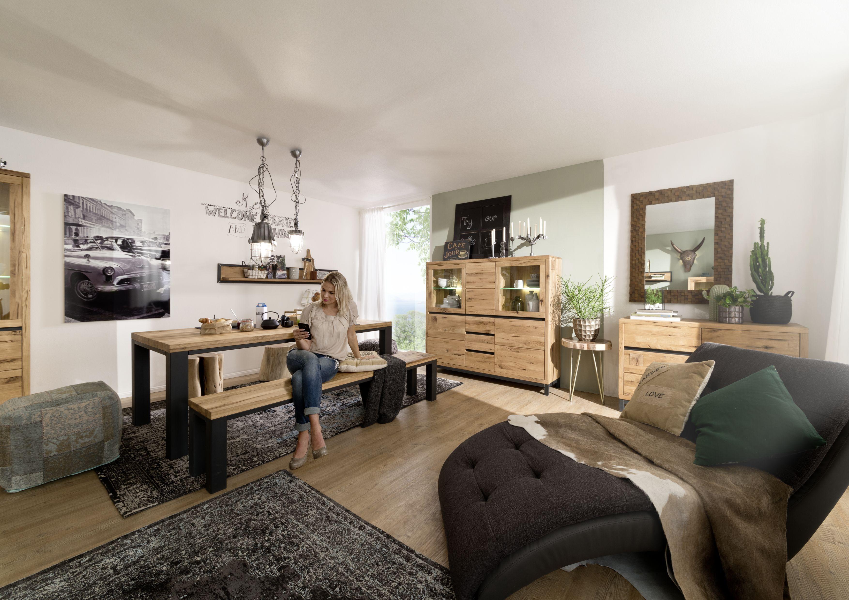 Möbel Wildeiche versandfrei kaufen Innenarchitektur