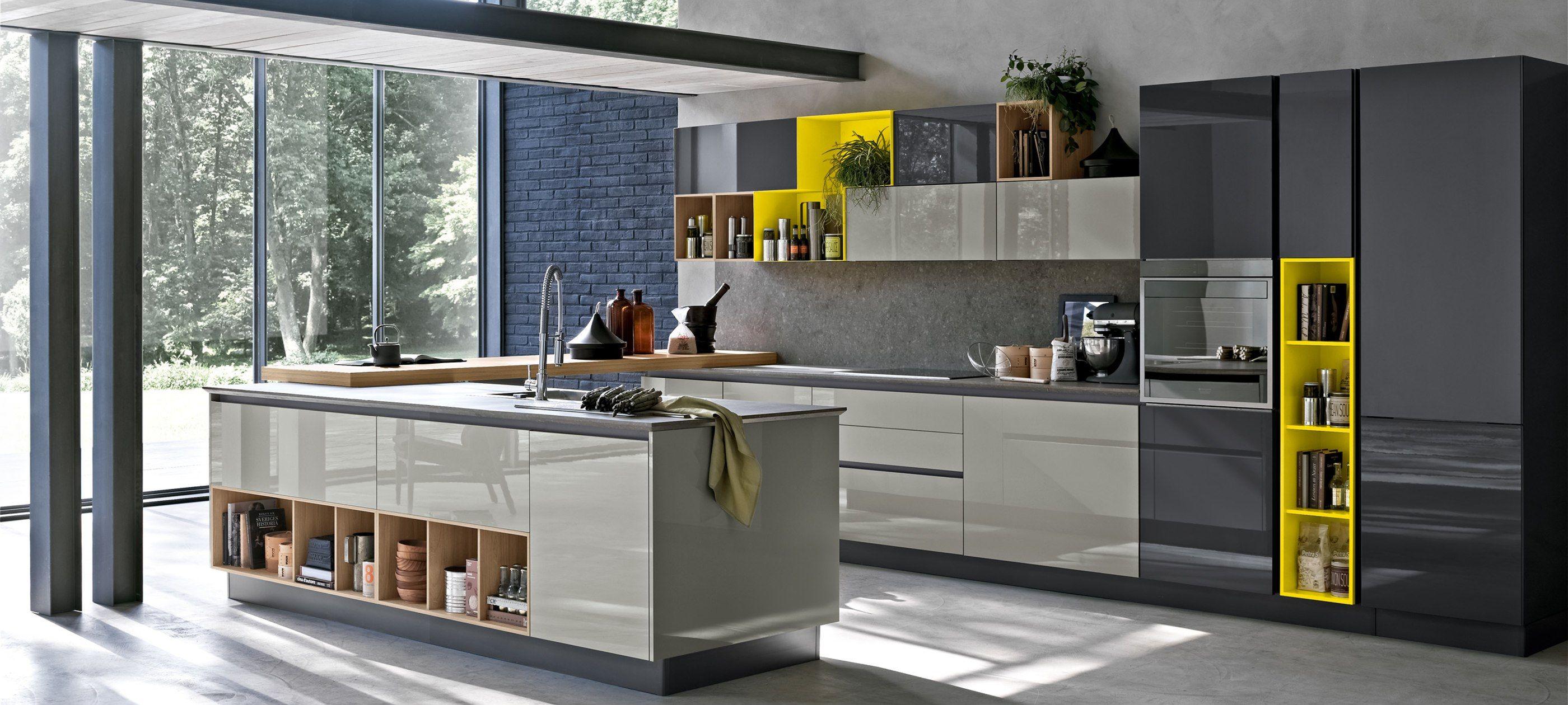 cucine moderne stosa - modello cucina aleve 01 | Interior ...
