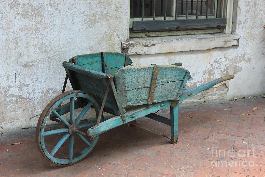 Cart Con Imagenes Carretilla De Madera Carretas Para Jardin