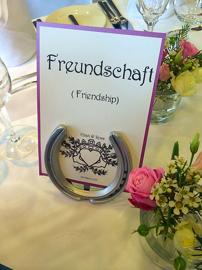 Table name cards by Made Marvellous Marvellous Wedding