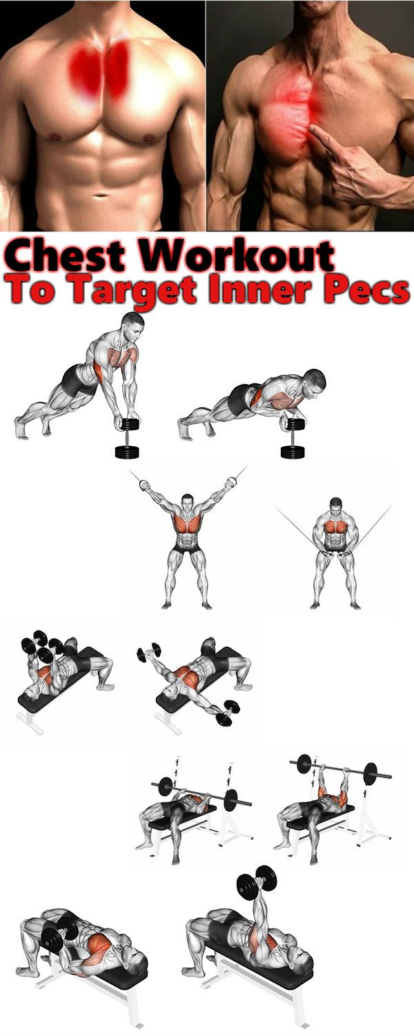 Chest Workout 3 Exercises To Target Inner Pecs Alex