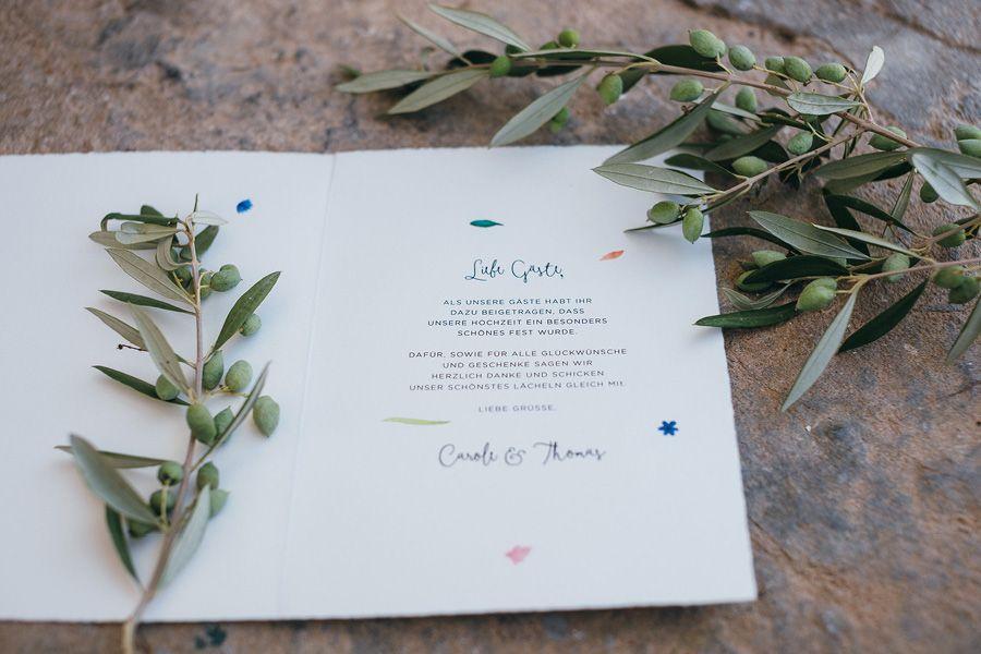 Hochzeit Einladung Blau Olive Brautstrauss Passend 3
