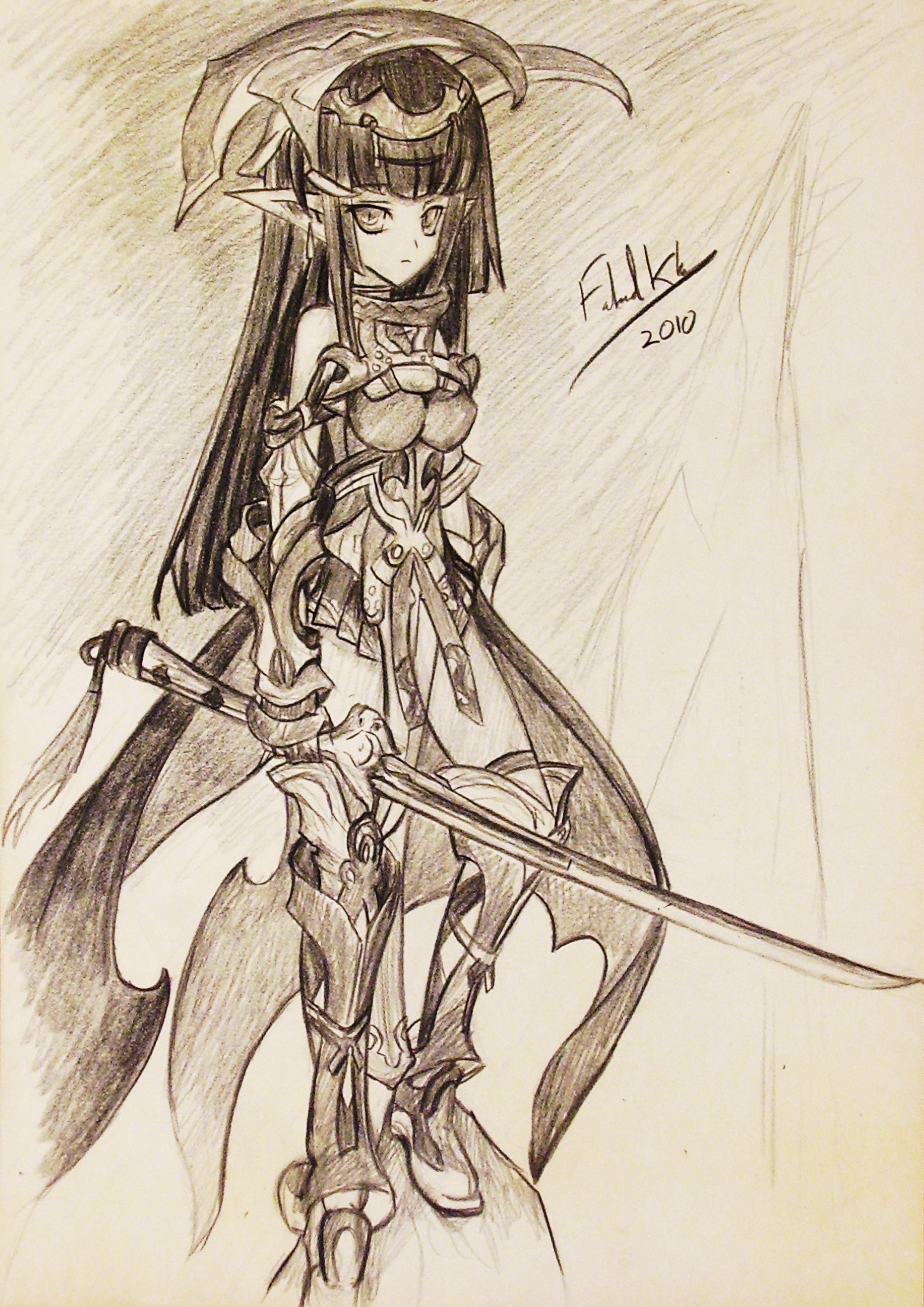 Anime fanart by Fahad Khan Anime fanart, Anime, Sketches