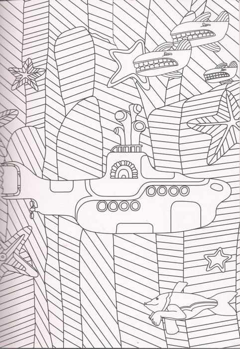 Submarine #27 (Transportation) – Printable coloring pages | 700x482