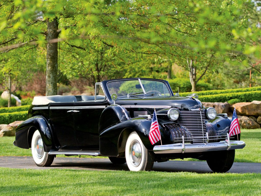 Cadillac Fleetwood Seventy-Five Convertible Sedan (40-7529) \'1940 ...