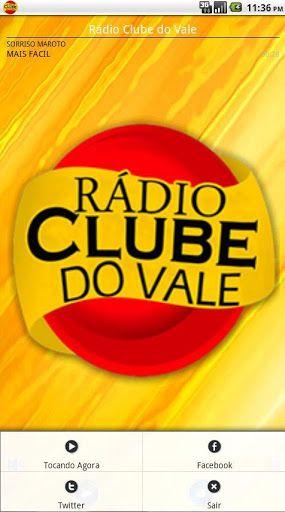 A Rádio Clube do Vale, fica localizada em São José dos Campos - SP e traz uma programação bem eclética, tocando todos os ritmos musicais de cantores nacionais, e conta com um alcance mundial através da internet, e agora com esse aplicativo para a plataforma Android, você poderá ouvir a rádio onde estiver.  http://Mobogenie.com