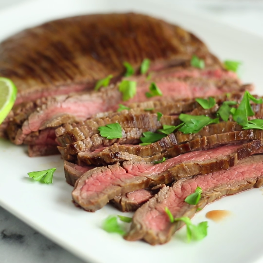 Photo of Coconut Lime Marinated Skirt Steak