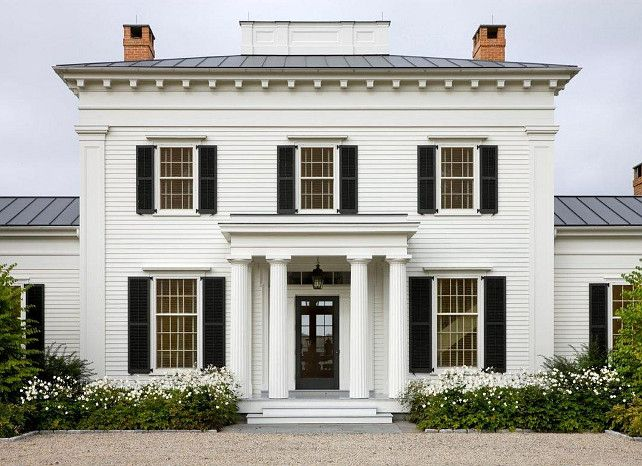 Traditional Architecture Residential Traditional Architecture House Exterior American Houses Architecture