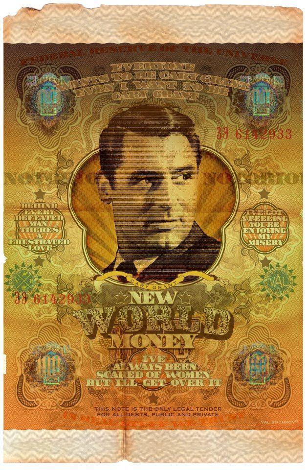 Cary Grant Val Bochkov S New World Money