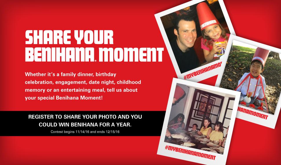 Win gift cards on benihana my benihana moment contest contests win gift cards on benihana my benihana moment contest bookmarktalkfo Choice Image