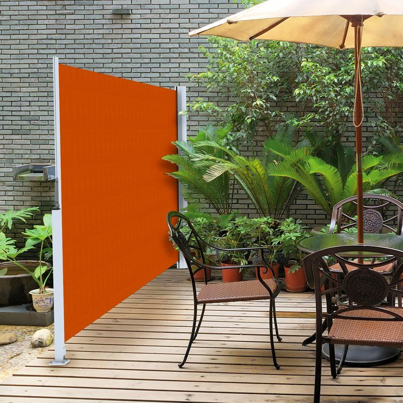 Retractable Outdoor Privacy Screen.Retractable Privacy Can Easily Be Added To Your Deck Or