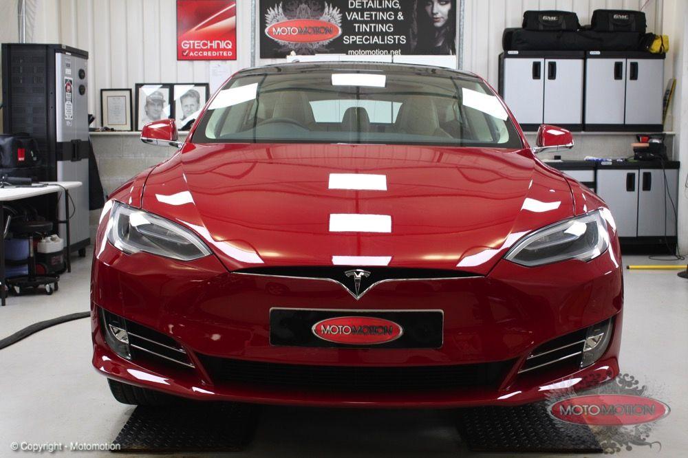 Tesla Model S New Car Detail Gtechniq Treatment Https Www