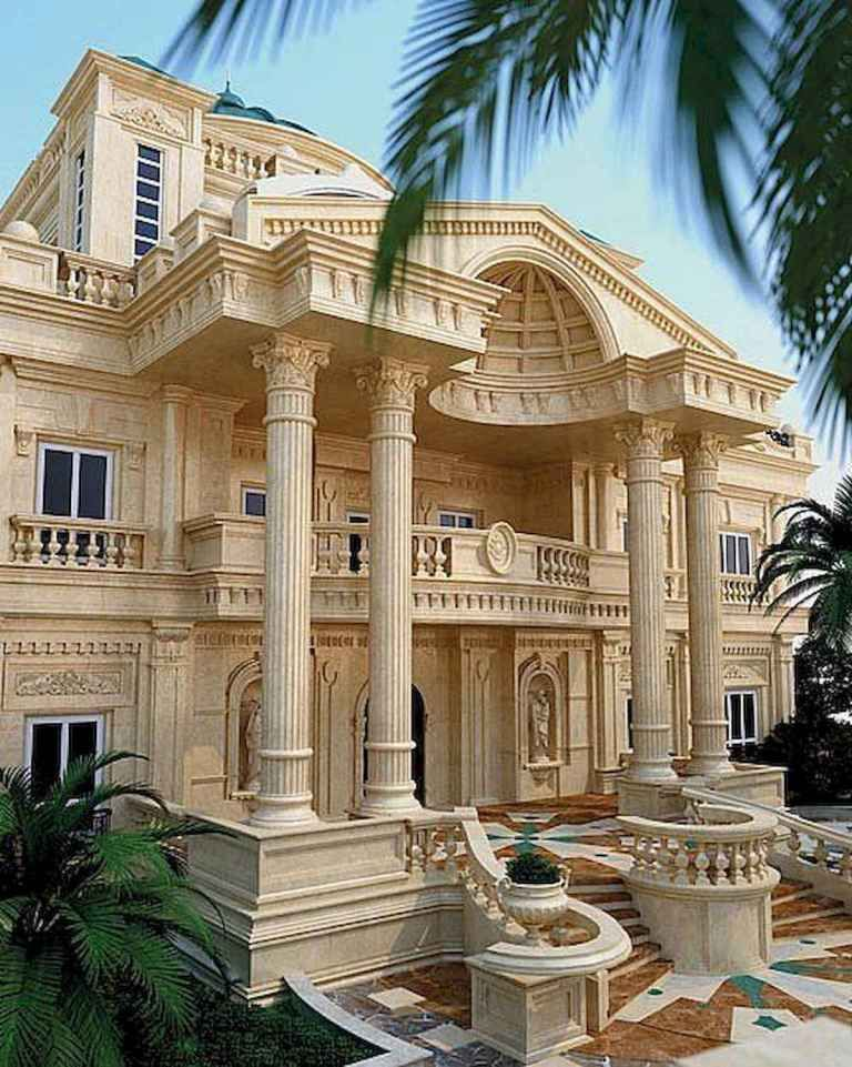 40 Stunning Mansions Luxury Exterior Design Ideas (24 #exteriordesign