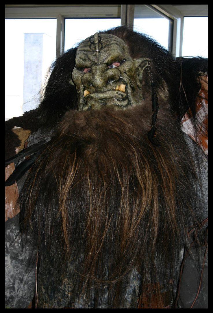 mountain troll for larp by Meatshop-Tattoo
