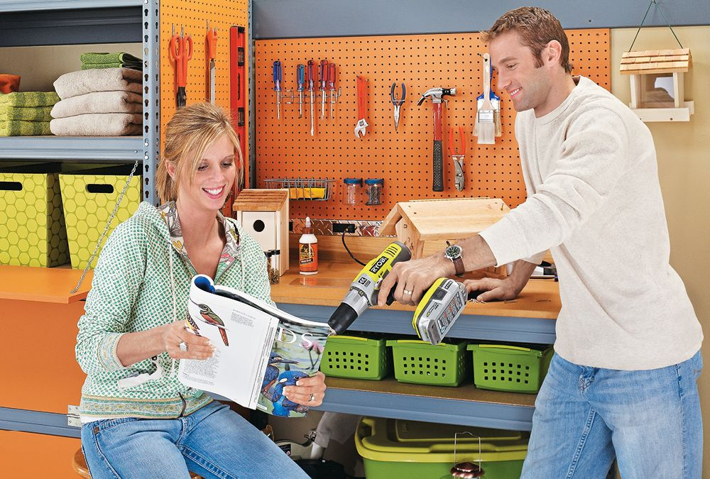 transform your garage with a simple and sturdy surface for on attractive garage storages ideas to organize your garage get these few tips id=48840