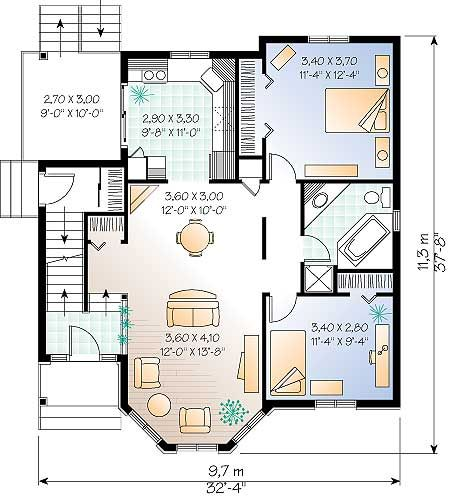 planos de casas 2 plantas gratis