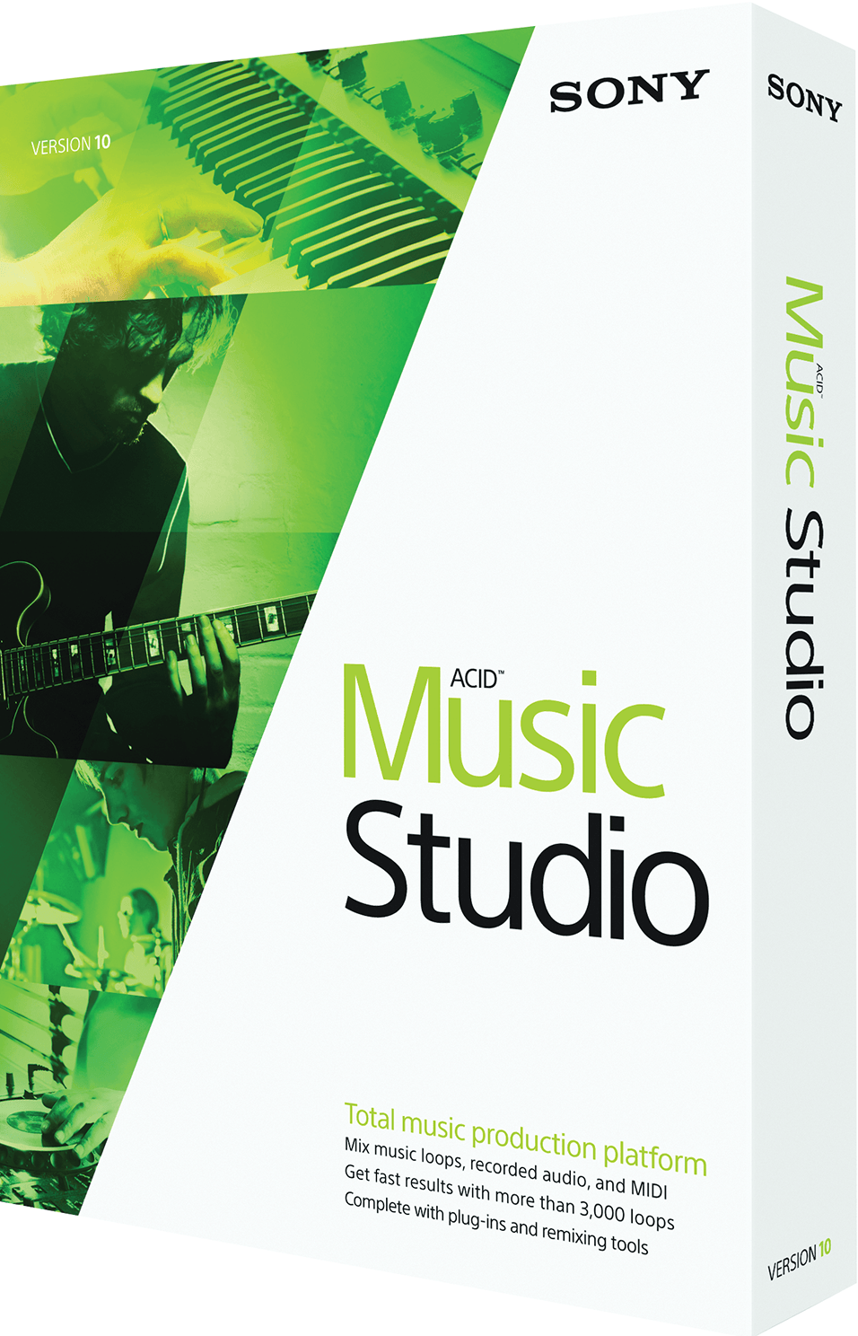 Sony acid music studio all versions keys,keygen,patch free.