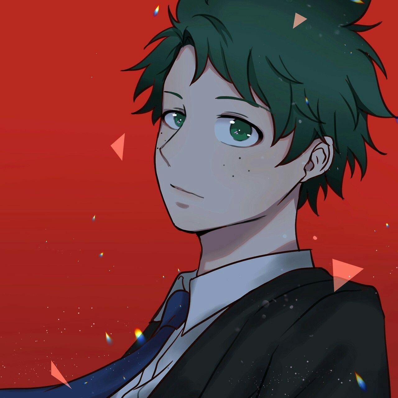 Midoriya Izuku Villain Deku Anime Hero