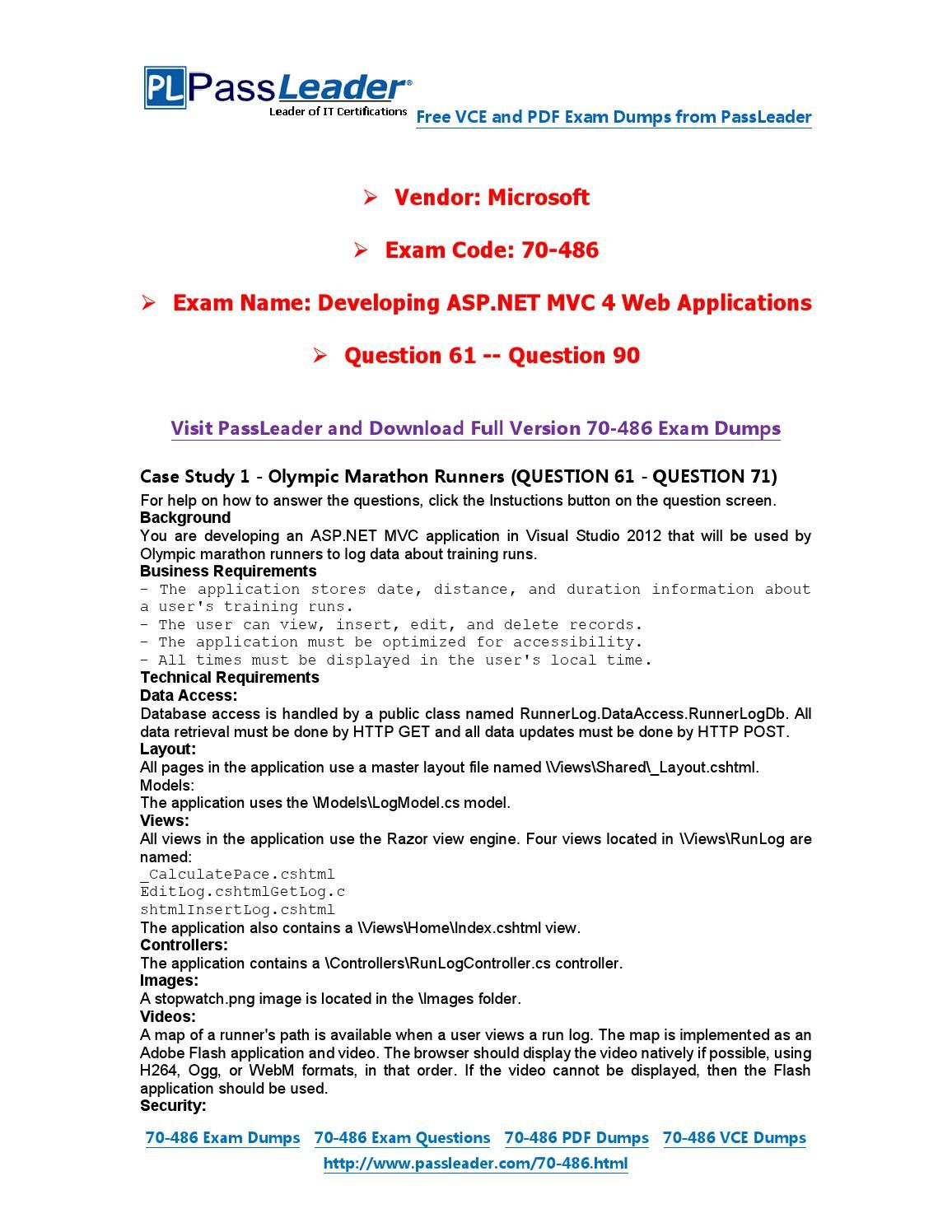 70 486 exam dumps with pdf and vce download 121 end 70 486 70 486 exam dumps with pdf and vce download 121 end 70 486 exam dumps with pdf and vce download pinterest xflitez Choice Image