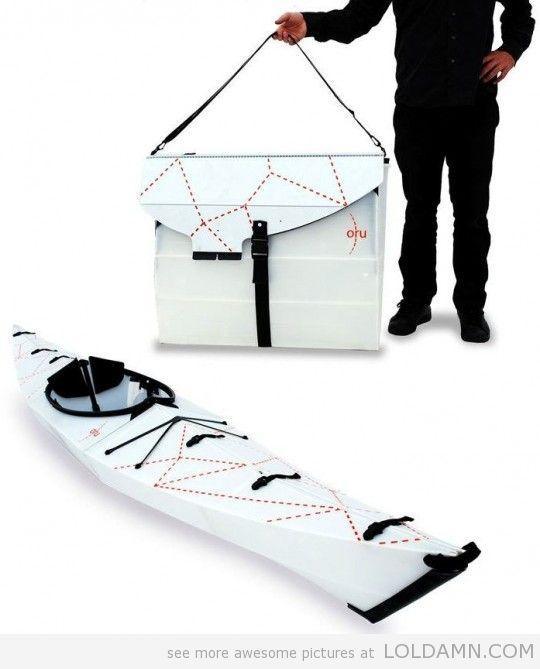 Oru Origami Kayak – A Foldable Kayak