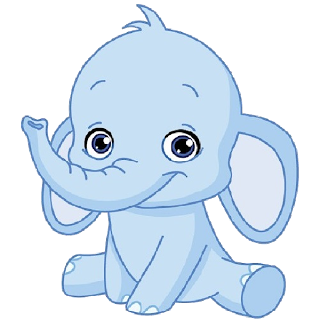 Funny Baby Elephant Clip Art Images All Baby Elephant Cartoon Images Are On A Transparent Background Baby Elephant Cartoon Elephant Clip Art Elephant Images