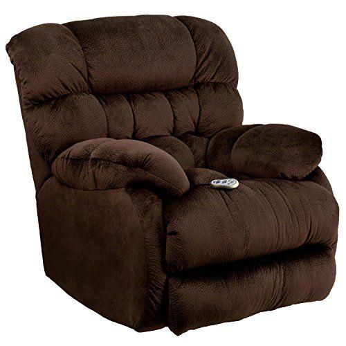 Flash Furniture Massaging Sharpei Chocolate Microfiber Rocker Recliner With Heat Control Flash Furniture Contemporary Furniture Rocker Recliner Chair