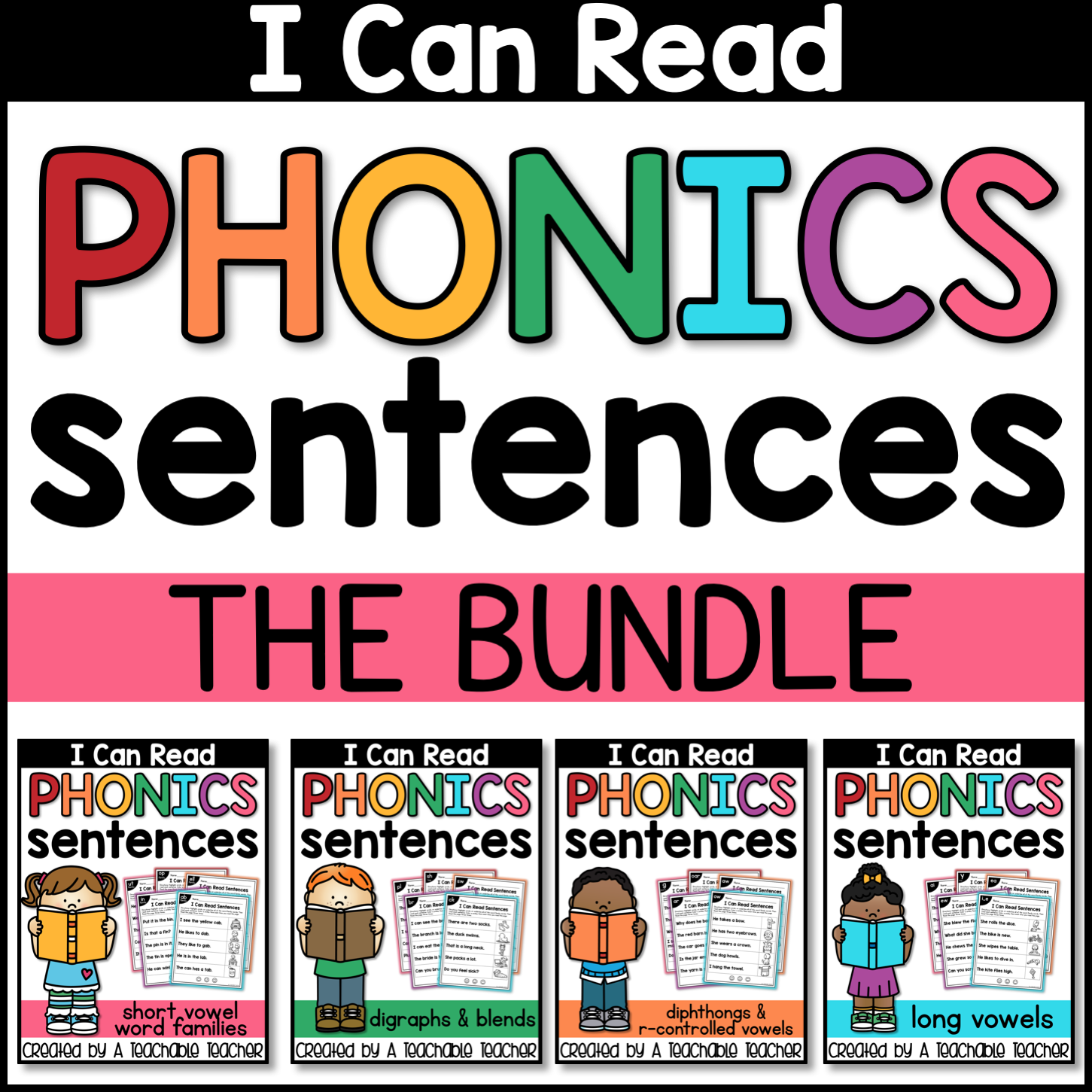 FREE Phonics Sentences Activities to Build Mastery and Fluency