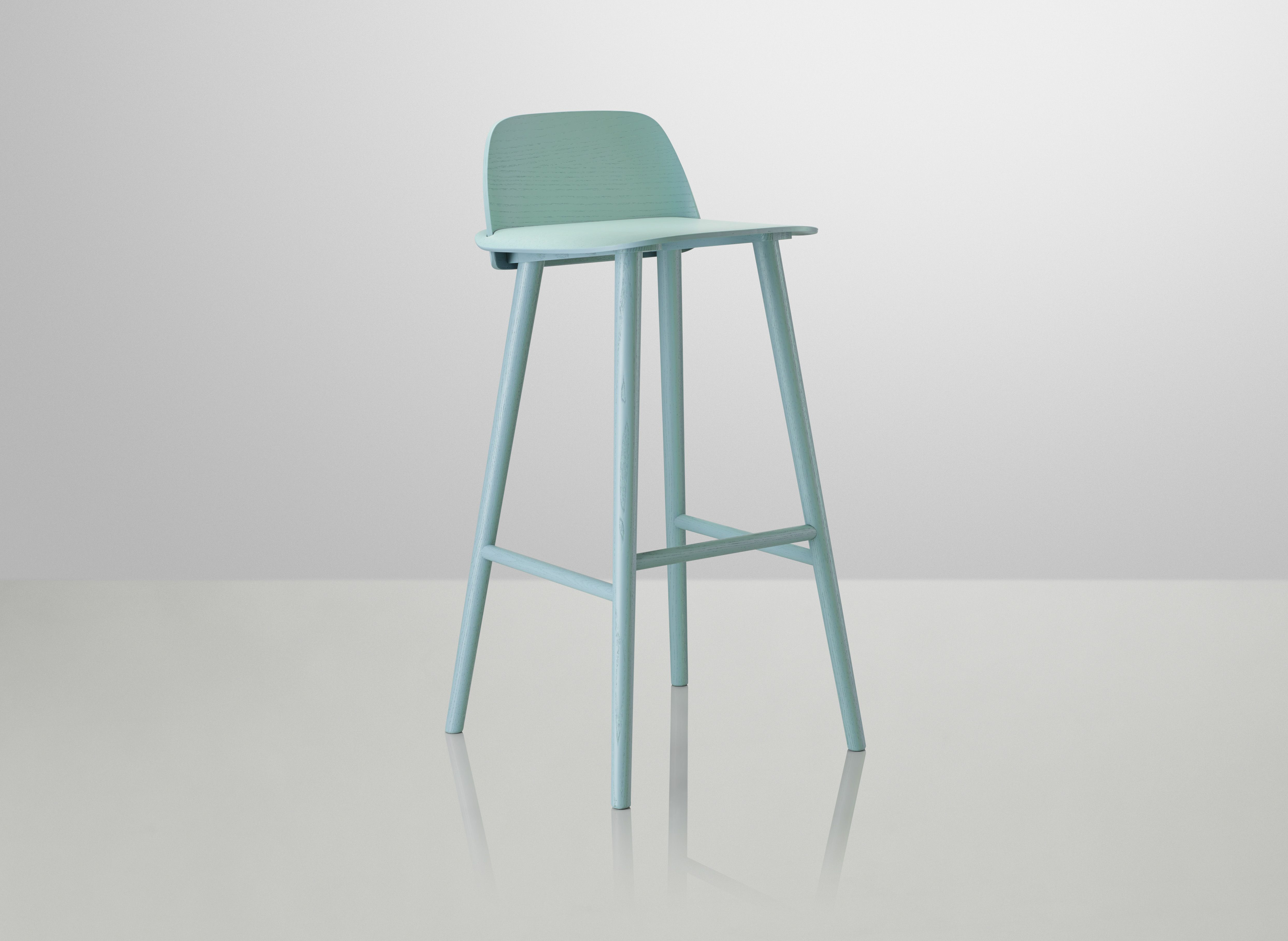 Nerd Barkruk Muuto : Nerd bar stool design by david geckeler muuto