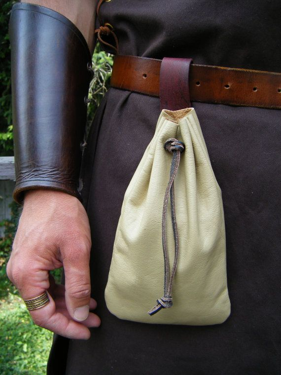 Tan Belt Pouch