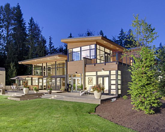 Wow Windows Forest House By McClellan Architects