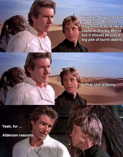 Princess Leia Star Wars Memes Star Wars Geek Carrie Fisher