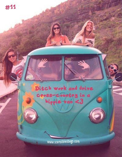 ☯☮ॐ American Hippie Bohemian Wanderlust Style ~ ditch work and drive cross-country in a hippie van!