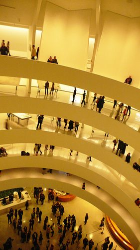 Architecture Party Frank Lloyd Wright From Within Outward Guggenheim Museum New York Guggenheim Museum Architecture Guggenheim