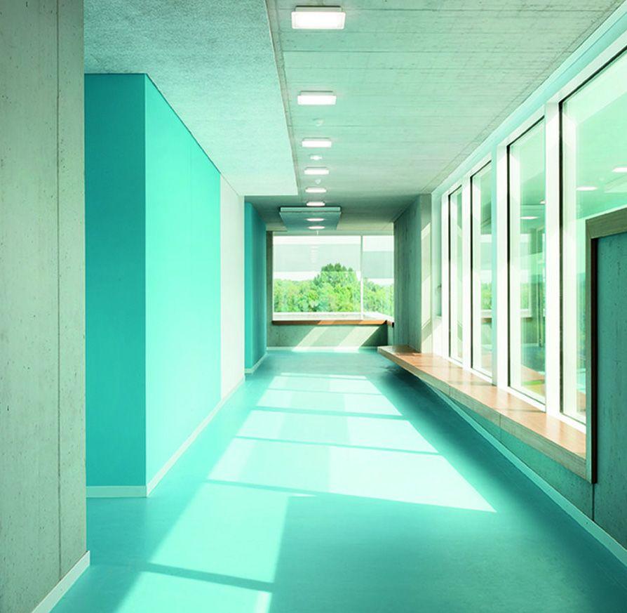Brilliant Interior Paint Color Schemes: Brilliant Modern School Interior Design Modern School