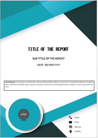 Book Template Design Free Word