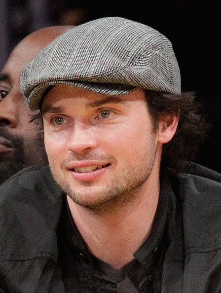Tom Welling - Celebrities At The Lakers Game