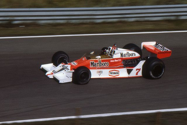 James Hunt, McLaren M26, 1978 Dutch GP